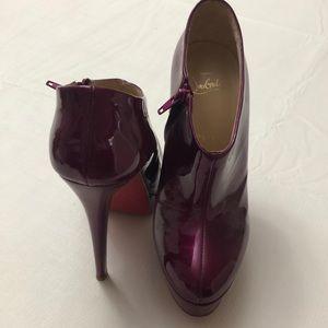 Christian Louboutin platform heels size 37